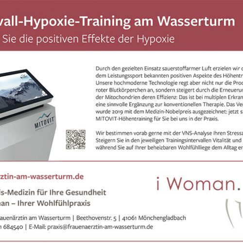 Intervall-Hypoxie-Training am Wasserturm