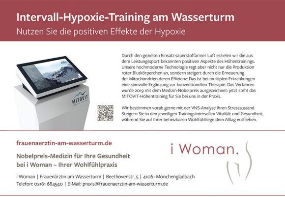 Intervall-Hypoxie-Training am Wasserturm